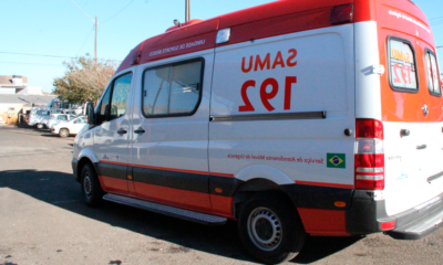 Nova AmbulÂncia do SAMU